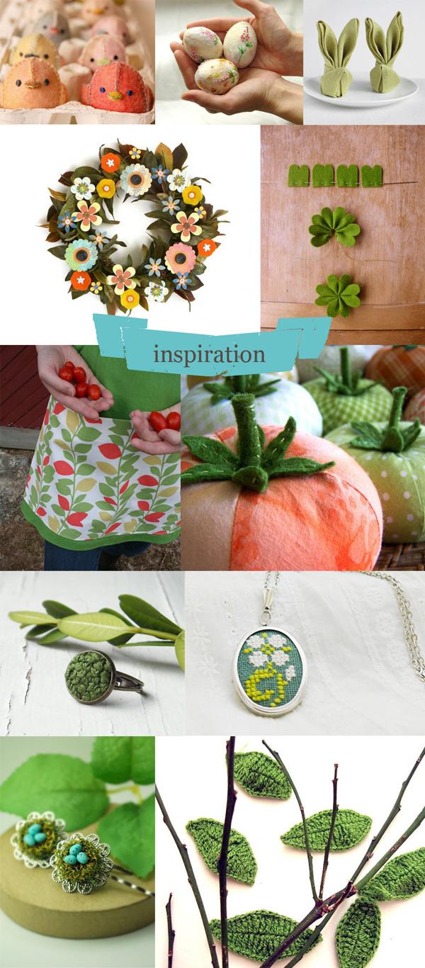 exemples de décorations manuelles pour les fêtes de pâques