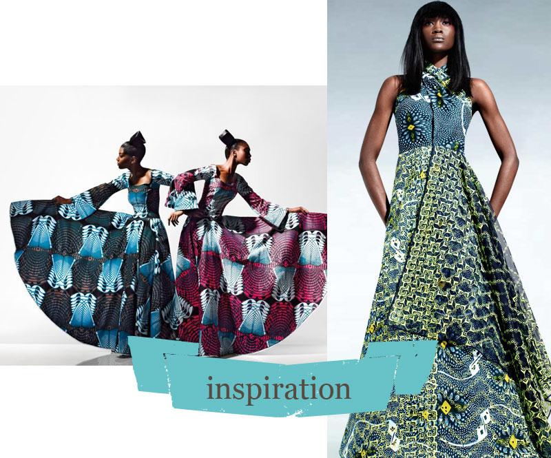 Favori un mariage en Wax / Le blog couture Frou-Frou Mercerie  QS49