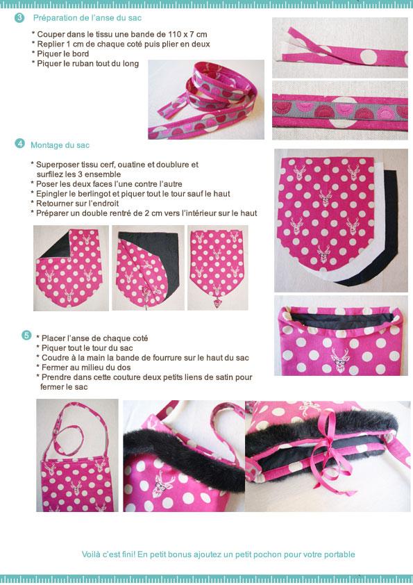 Favorit Idée créative : le sac cosaque / Le blog couture Frou-Frou  KV06