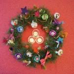 Idée créative : la couronne de Noël