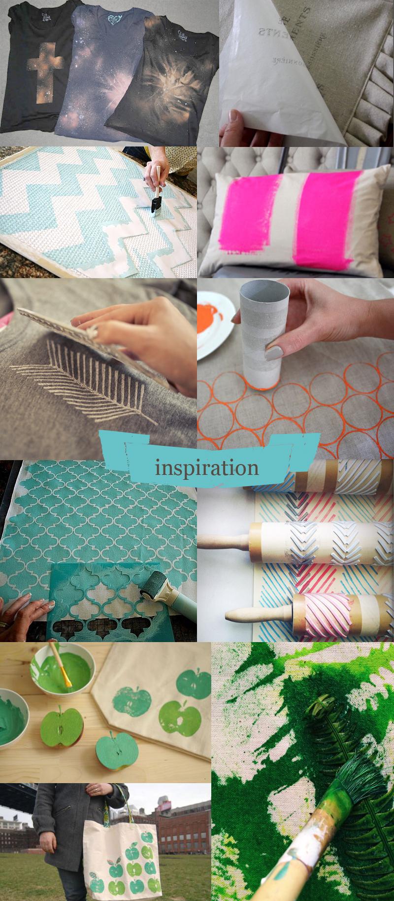 Célèbre L'impression textile à la maison / Le blog couture Frou-Frou  XW37