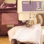 Découvrez l'atelier de couture de la boutique Frou-Frou Marché Saint-Pierre