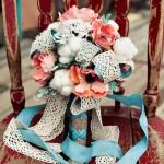 Fleur et dentelle pour la fête des mères