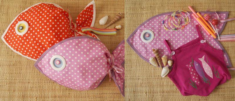 Favori Idée créative : le sac poisson en couture sans fil à réaliser avec  FG77