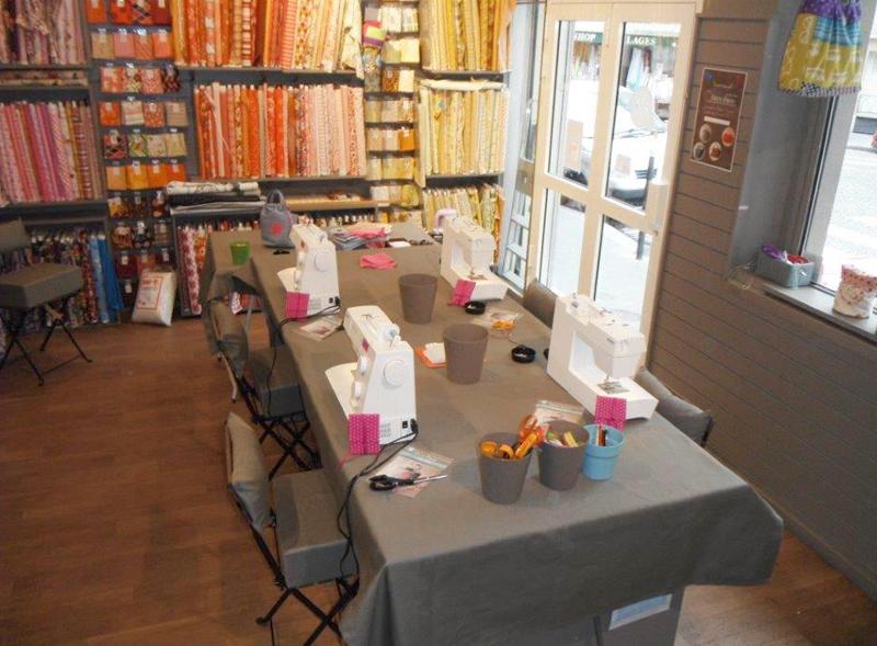 La rentr e des ateliers couture de moline mercerie le for Couture mercerie