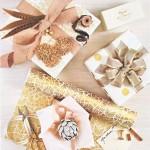 Noël créatif en blanc, or et argent