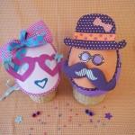Idée créative : les masques Monsieur et Madame