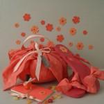Idée créative : le baluchon fleur