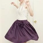 Mercerie violet sage