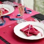 Préparez une belle table, pas à pas, avec Frou-Frou