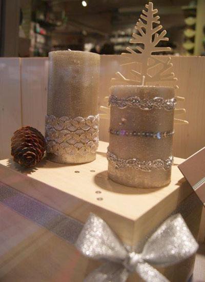 customiser-vos-bougies-avec-mes-rubans-or-et-argent-Frou-Frou-pour-Noel