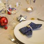 A table la mercerie! C'est Noël!