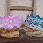 Idée créative : les couronnes des rois de la galette