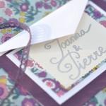 Le faire-part de mariage