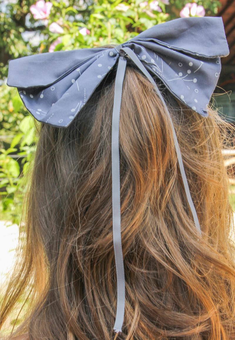 DIY noeud couture