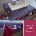 Le tapis pour machine à coudre