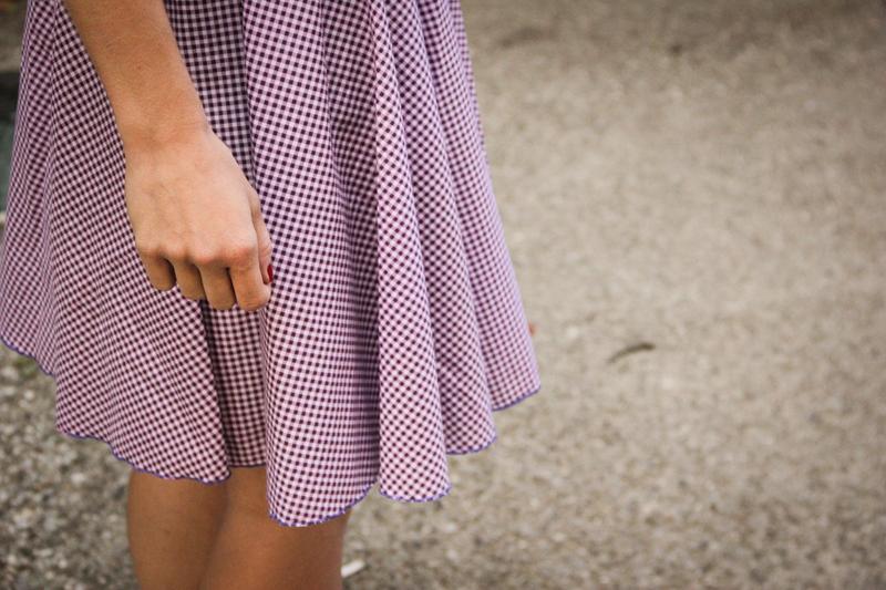 Jupe-couture-Vichy-Frou-Frou-par-Seven-Lane