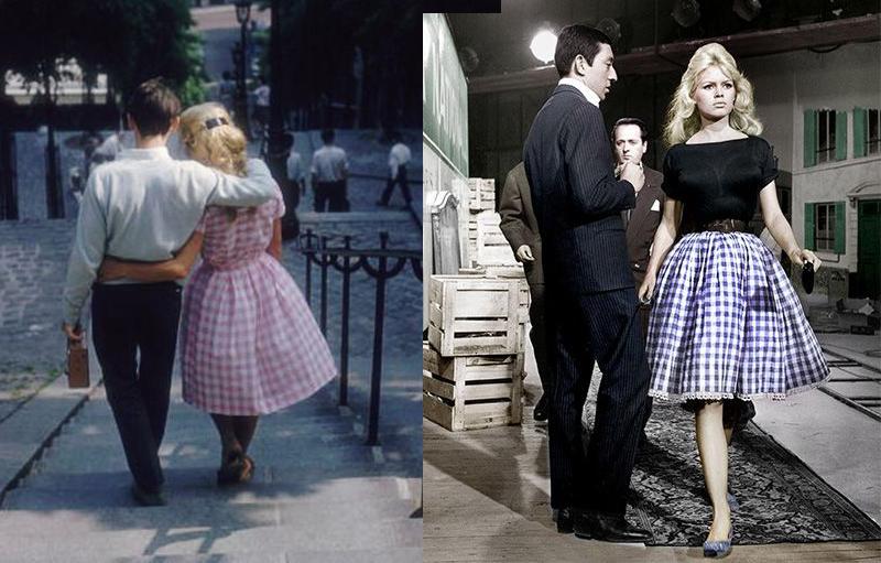 jupe-vichy-de-Brigitte-Bardot