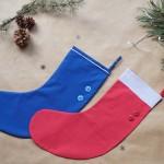 La chaussette de Noël par Le Dé Cousu