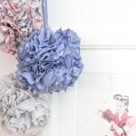 Le DIY pompons en tissu Frou-Frou