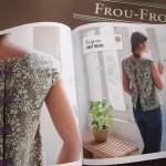 Zoom sur la couture : le haut noeuds Eugénie Frou-Frou
