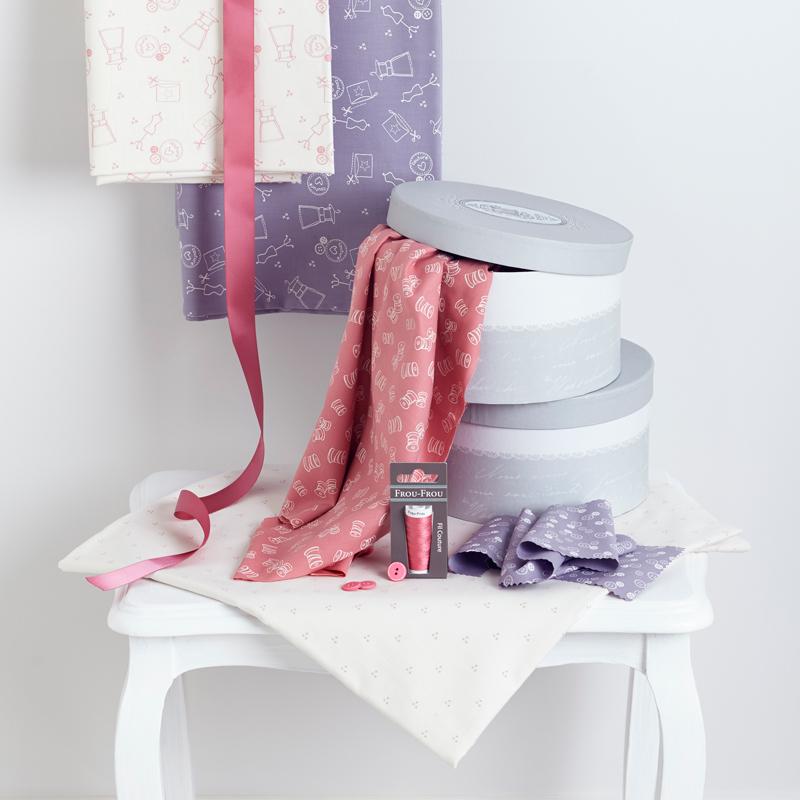 Tissu-Frou-Frou-I-love-couture-rose