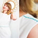 DIY la petite robe brodée