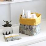DIY l'étui à mouchoirs et la corbeille de salle de bain