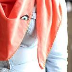 DIY le foulard réversible