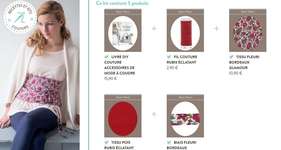 recette et kit couture vetement Frou-Frou 1