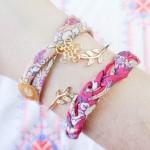 DIY les bracelets couture