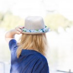 DIY le chapeau de paille customisé