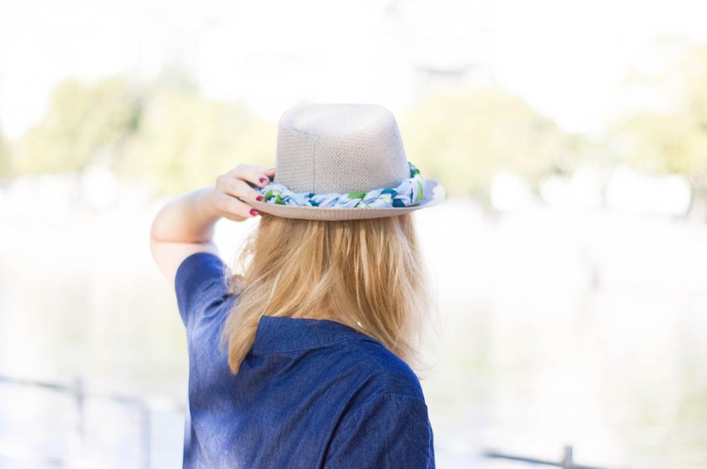 DIY le chapeau de paille customisé   Le blog couture Frou-Frou ... f68474494c9