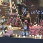Des vitrines couture pour les fêtes