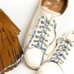 DIY les chaussures customisées