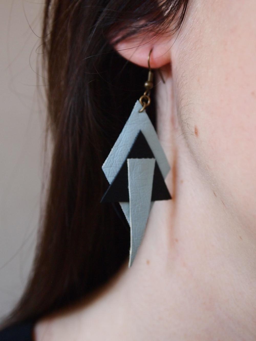bijoux DIY en simili cuir