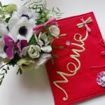 Idée créative : le livre-photos couture pour la fête des grand-mères