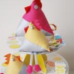 Idée créative : la poule de pâques