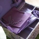 Une jolie boîte en tissu pour maman