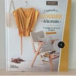 Nouveau livre couture : J'apprends à coudre à la main