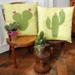 Idée créative : Le DIY coussin cactus