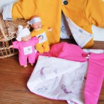 Idée créative : le gilet bébé douillet