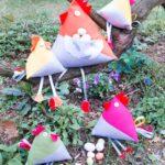Idée créative : Poules de Pâques