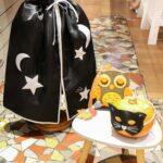 Idée créative : Une cape et un masque pour Halloween