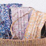 Idée créative : les masques de protection fleuris + DIY Un Masque Express
